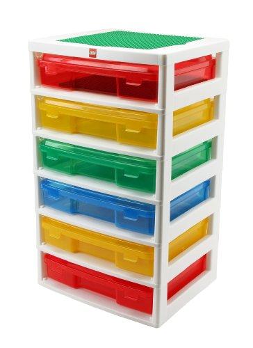 IRIS LEGO 6-Case Workstation and Storage Unit with 2 Base Plates