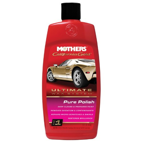 Mothers 37100 California Gold Pure Polish - Step 1, 16-Ounce