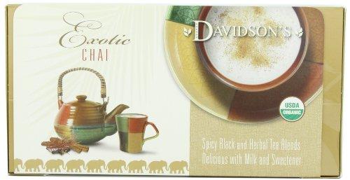 Davidson's Tea Single Serve Classic Chai, 100-Count Tea Bags