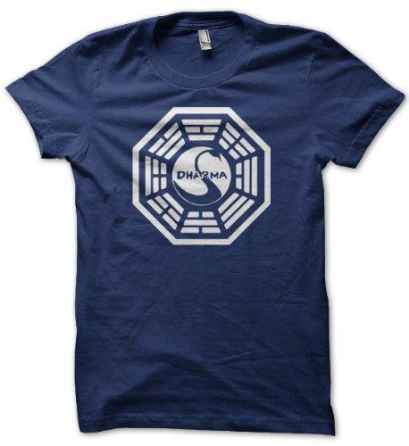 Men's American Apparel Dharma Swan Logo Shirt