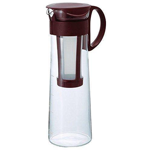 Hario Mcpn-14cbr Water Brew Coffee Pot, 1000ml, Brown (Japan Import)