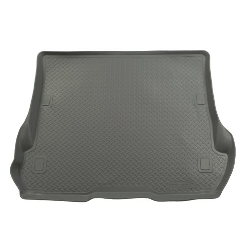 Husky Liners Custom Fit Molded Rear Cargo Liner for Select Nissan Rogue Models (Grey)