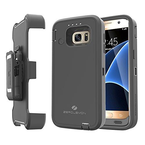 Samsung Galaxy S7 Belt Clip, Zerolemon Samsung Galaxy S7 Belt Clip Holster for ZeroLemon Galaxy S7 7500mAh Battery Case (Battery Case is not included) [180 days ZeroLemon Warranty Guarantee]