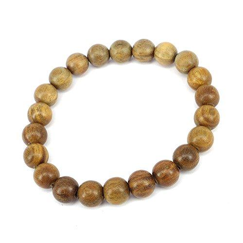 Cat Eye Jewels 10MM Feng Shui Buddha Prayer Meditation Mala Green Sandal Wood Bracelet with Free Gift fashion Tassel Charms H002
