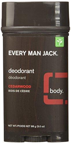 Every Man Jack Deodorant Stick Cedarwood, 88 Gram