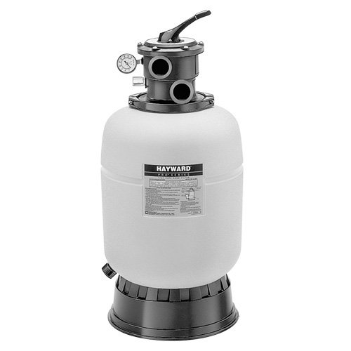 Hayward S166T92S Pro Series 16-Inch 1-Horsepower Top-Mount Sand Filter Power Matrix Pool Pump