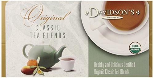 Davidson's Tea Single Serve Spiced Peach, 100-Count Tea Bags
