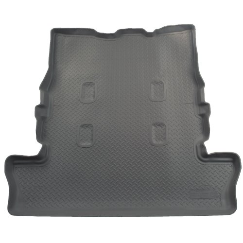 Husky Liners Custom Fit Molded Rear Cargo Liner for Select Toyota Land Cruiser/Lexus LX570 Models (Grey)