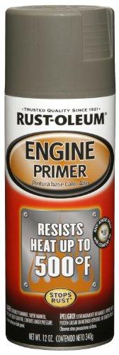 Rust-Oleum 249410 Automotive 12-Ounce Engine Primer Spray Paint, Gray