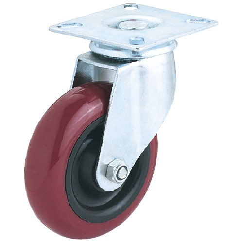 Steelex D2611 5-Inch Swivel Polyurethane Wheel