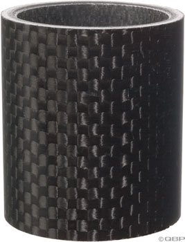 Wheels Manufacturing Carbon Fiber Headset Spacer, 1 1/8-Inch x 40 mm