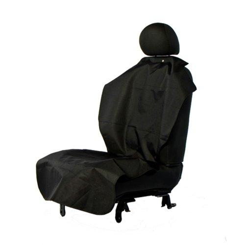 Bergan HD Poncho Car Seat Protector for Pets, Black