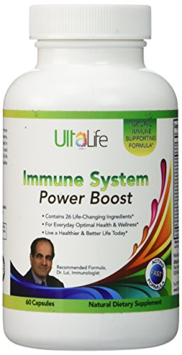 Dr. Lui's Immune Support System with Antioxidants, Vitamins, Herbal Supplements & Natural Botanicals - 60 Tabs - Vitamin C, Selenium, Curcumin, Green Tea, Grape Seed Extract, & More for Total Wellness