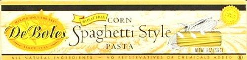 DeBoles Gluten Free Corn Spaghetti Style Pasta -- 8 oz