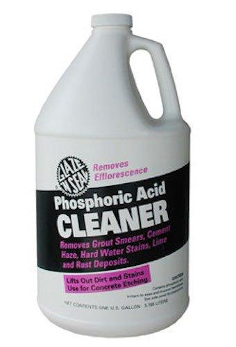 Glaze 'N Seal 353 Clear Phosphoric Acid Cleaner Gallon, Plastic Bottle, 128 fl. oz.