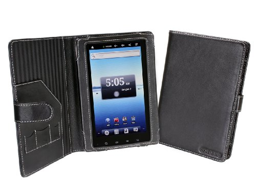 Cover-Up Nextbook Premium7 (Next 7P) Tablet PC Leather Cover Case (Book Style) - Black