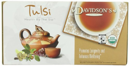 Davidson's Tea Single Serve Assorted Tulsi, 100-Count Tea Bags
