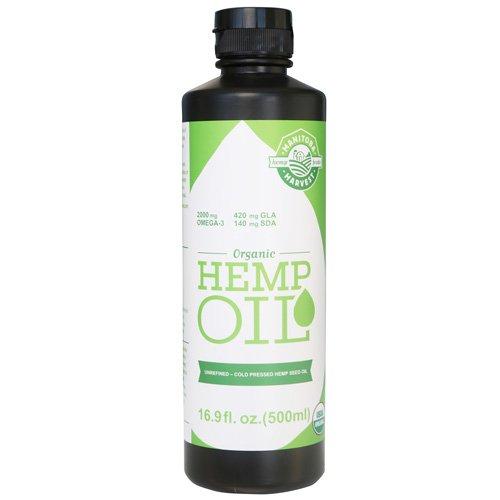 Manitoba Harvest Organic Hemp Seed Oil, 16 Ounce -- 3 per case.