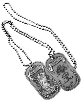 NEW St. Christopher Dog Tag