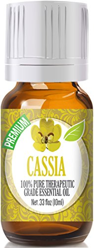 Cassia 100% Pure, Best Therapeutic Grade Essential Oil - 10ml