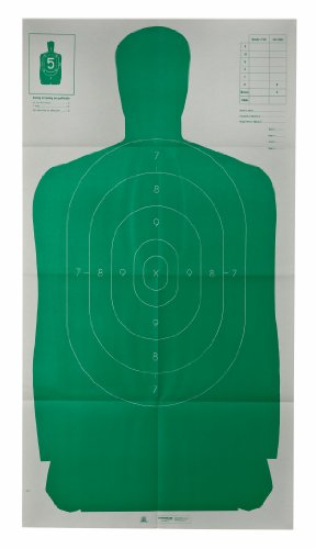 Champion LE 24x45-Inch Green Police B27FSA Silhouette Target (Pack of 10)