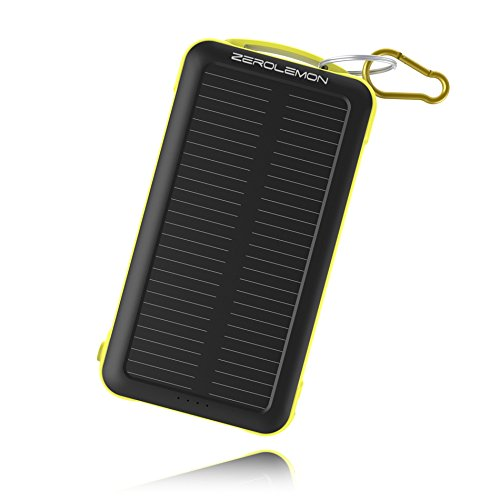 Zerolemon SolarJuice 20000mAh Solar Power/Crushproof Rugged External Battery