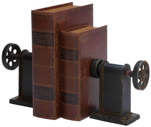 Industrial Bookends Set Of 2