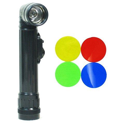 Black TL-142 Splash Proof Shock Resistant Field Torch - Small