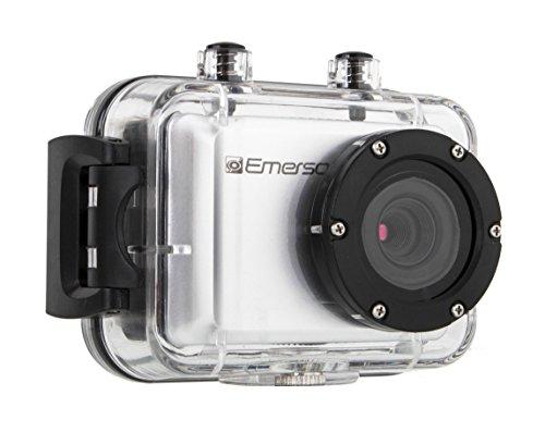 Emerson EVC555SL EVC555 HD Action Camera (Silver)