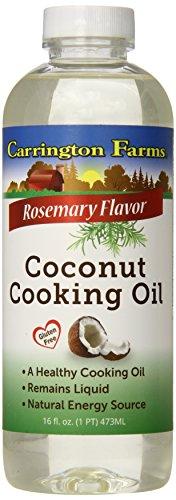 Carrington Farms Coconut Cooking Oil, Rosemary, 16 Ounce