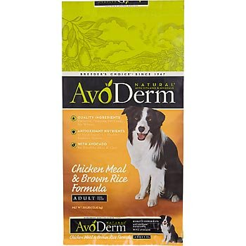 AvoDerm Natural Chicken Meal and Brown Rice Formula Dog Food