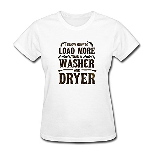 Cute n' Country Women's I Know How To Load More Than a Washer and Dryer Shirt