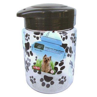 Lixit 30-0128-001 Dog Treat Jar, Large, 128-Ounce