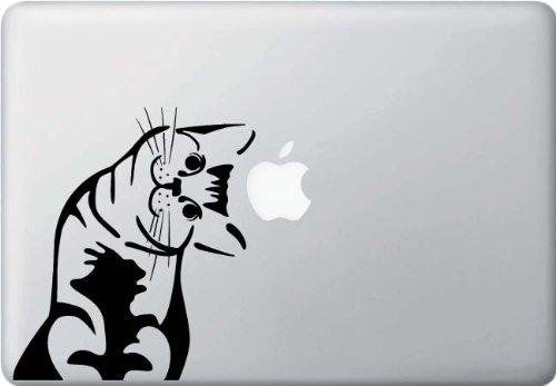Cat - Whatcha Doin? - I Can Haz? - Macbook or Laptop Decal - Manufactured in the USA by Yadda-Yadda Design Co.