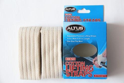 Altus Athletic Cotton Lifting Straps
