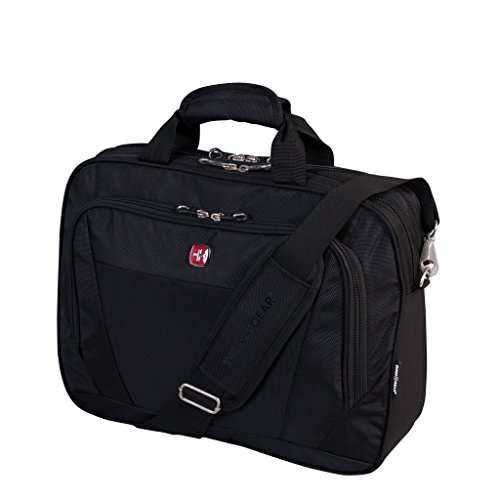 Swiss Gear Swissgear 15.6-Inch Rfid Portfolio, Black, Under Seat