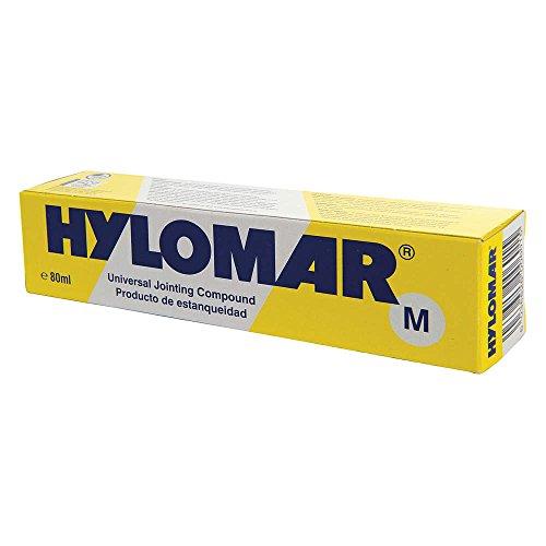 Hylomar HUBR02 Polyurethane Sealant, 80 mL Tube, Blue
