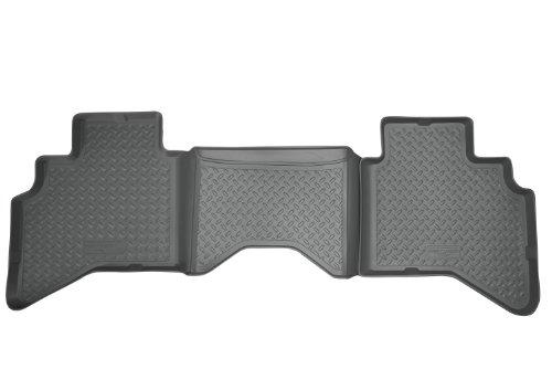 Husky Liners Custom Fit Second Seat Floor Liner for Select Dodge Ram Models (Grey)