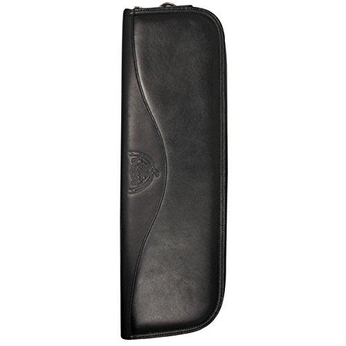 Dopp Leather Tie Case - Black