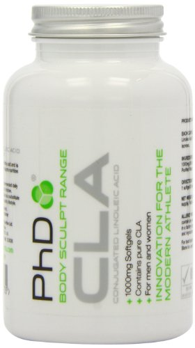 PhD Nutrition CLA 1000mg, 90 Capsules