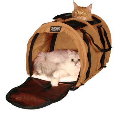 Sturdi Products SturdiBag Double Sided Divided Pet Carrier, X-Large, Earthy Tan