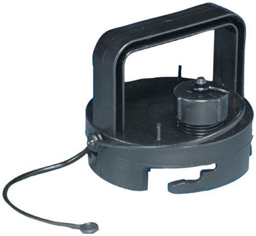 Valterra F02-3106BK Black Bulk EZ Coupler Valve Cap with Handle