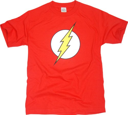 Officially Licensed DC Comics Flash Logo T-Shirt