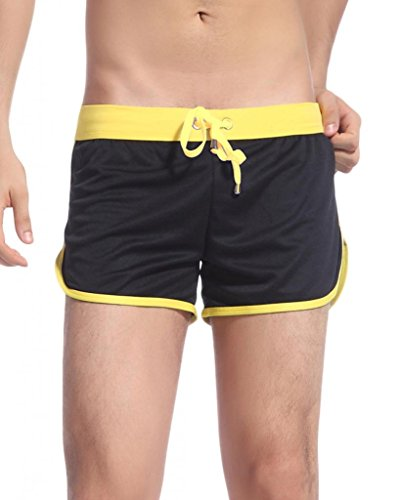 Men's Striped Sports Beachwear Shorts