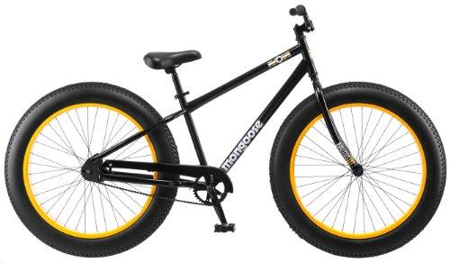 Mongoose Brutus Bicycle, Black, 26-Inch