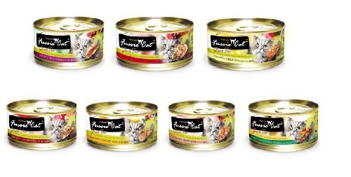 Fussie Cat Premium Variety Pack - Canned Cat Food - 28/2.8oz Cans
