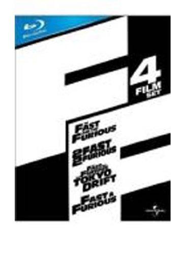 Fast & Furious 1-4 Box Set [Blu-ray][Region Free]