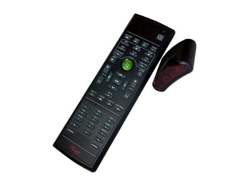 Rosewill RHRC-11001 MCE Infrared Remote Control with Learning Function for Windows Vista/Window7 MCE/Windows 8, Black