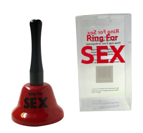 Fairly Odd Novelties Ring for Sex Novelty Fun Adult Gag Gift Handbell