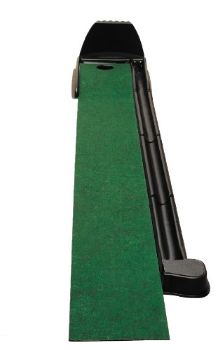 ProCircuit Indoor Putt Return System, Mat and Automatic Ball Return for Left or Right Handed Golfers